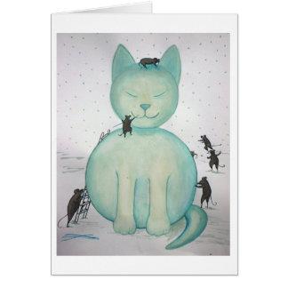 Snowcat Card