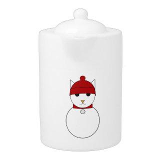 Snowcat Teapot