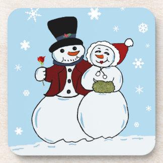 Snowcouple Coaster
