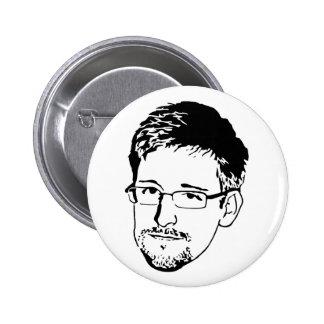 Snowden 2 Inch Round Button