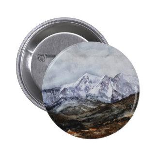 Snowdon Horseshoe in Winter.JPG 2 Inch Round Button