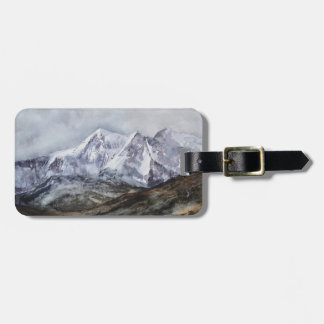 Snowdon Horseshoe in Winter.JPG Luggage Tag