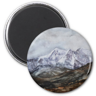 Snowdon Horseshoe in Winter.JPG Magnet