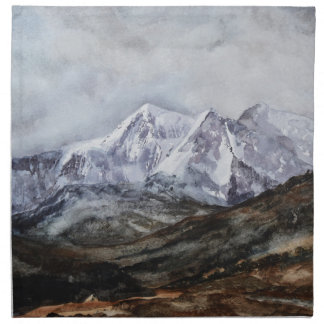Snowdon Horseshoe in Winter.JPG Napkin