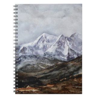 Snowdon Horseshoe in Winter.JPG Notebooks
