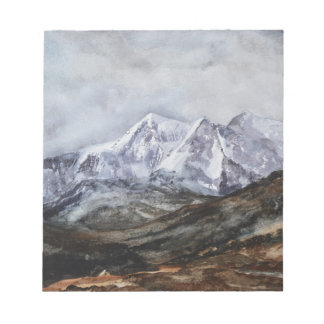 Snowdon Horseshoe in Winter.JPG Notepad