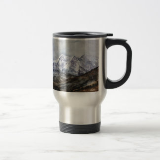 Snowdon Horseshoe in Winter.JPG Travel Mug