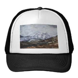 Snowdon Horseshoe in Winter.JPG Trucker Hat