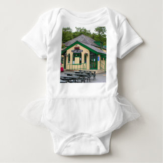 Snowdon Mountain Railway Station, Llanberis, Wales Baby Bodysuit
