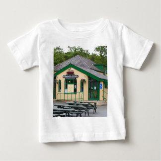 Snowdon Mountain Railway Station, Llanberis, Wales Baby T-Shirt