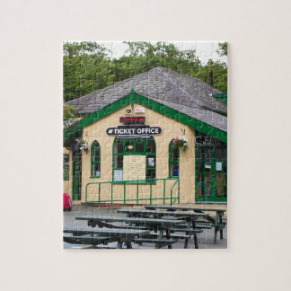 Snowdon Mountain Railway Station, Llanberis, Wales Jigsaw Puzzle