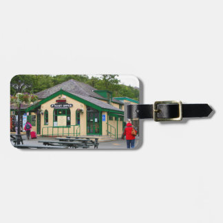 Snowdon Mountain Railway Station, Llanberis, Wales Luggage Tag