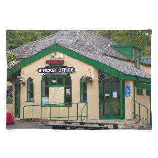 Snowdon Mountain Railway Station, Llanberis, Wales Placemat