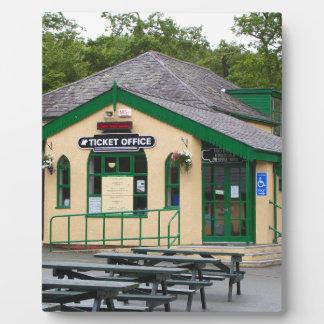 Snowdon Mountain Railway Station, Llanberis, Wales Plaque
