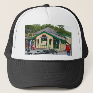 Snowdon Mountain Railway Station, Llanberis, Wales Trucker Hat