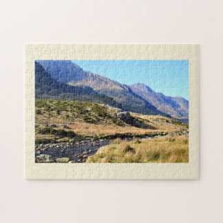 Snowdonia in Wales Jigsaw Puzzle