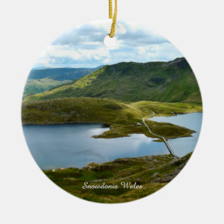 Snowdonia Wales. Ceramic Ornament