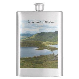 Snowdonia Wales. Flask