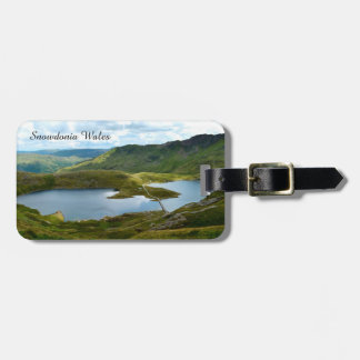 Snowdonia Wales. Luggage Tag
