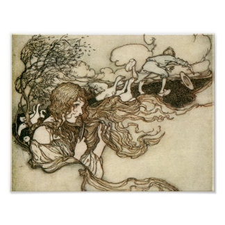 Snowdrop and other Tales by Arthur Rackham Poster
