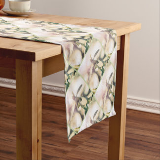 Snowdrop lyrical 2.01q short table runner