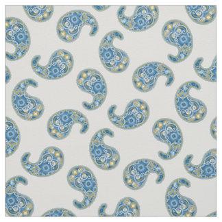 Snowdrop Paisley Pattern Fabric