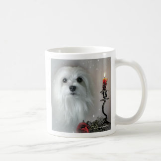 Snowdrop the Maltese Coffee Mug