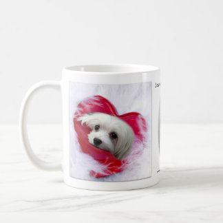 Snowdrop the Maltese Mug