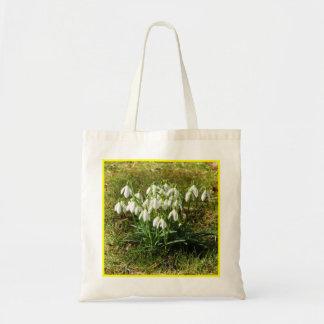 Snowdrops 02.2 (Schneegloeckchen) Tote Bag