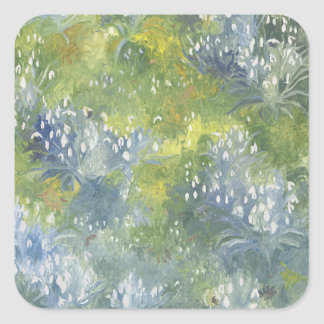 Snowdrops 2014 square sticker