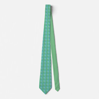 Snowdrops Painting Tie