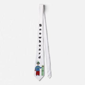 snowdude, Snowboard Tie