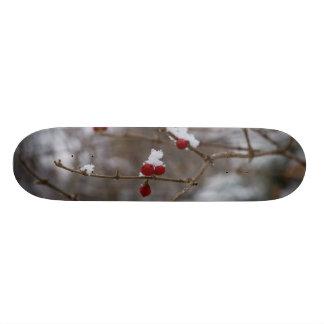 Snowed Berries Custom Skateboard