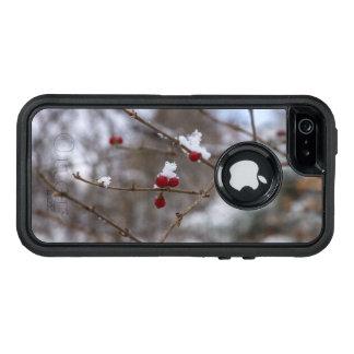 Snowed Berries OtterBox Defender iPhone Case