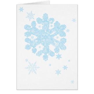 snowflake 2 holiday card