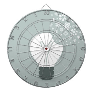 Snowflake a bulb2 dartboard
