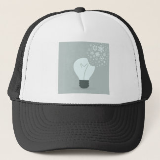 Snowflake a bulb2 trucker hat