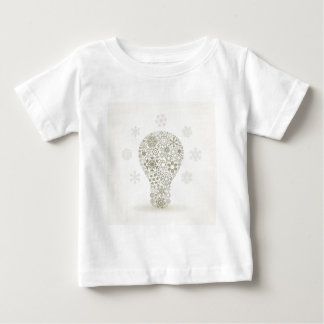 Snowflake a bulb baby T-Shirt
