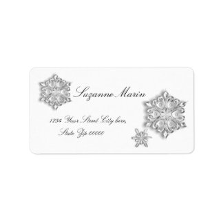 Snowflake Address Labels