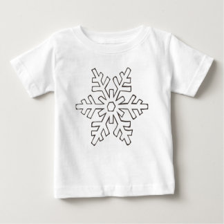Snowflake Baby T-Shirt