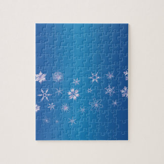 Snowflake Banner Puzzles