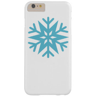 Snowflake Barely There iPhone 6 Plus Case