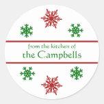 Snowflake Christmas Gift Tag