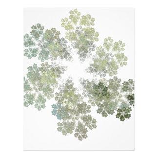 Snowflake Clusters Letterhead Design