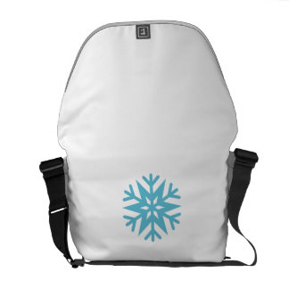 Snowflake Courier Bags