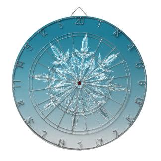 Snowflake Crystal Dartboard