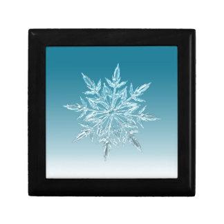 Snowflake Crystal Keepsake Boxes