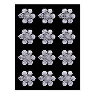 Snowflake Crystal Photos Postcard