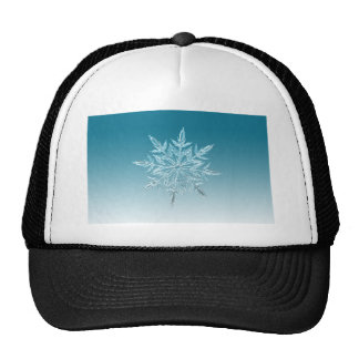 Snowflake Crystal Trucker Hat