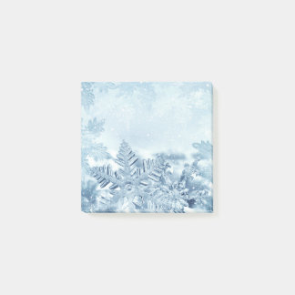 Snowflake Crystals Post-it® Notes